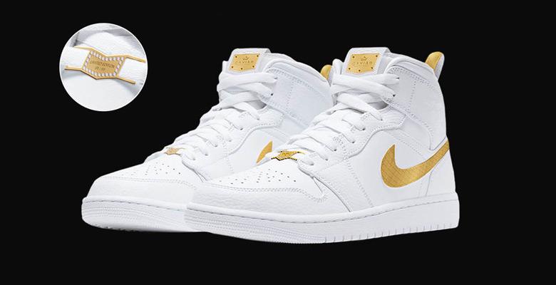 Caviar x Nike Air Jordan « Victory Gold » : Une édition limitée ...