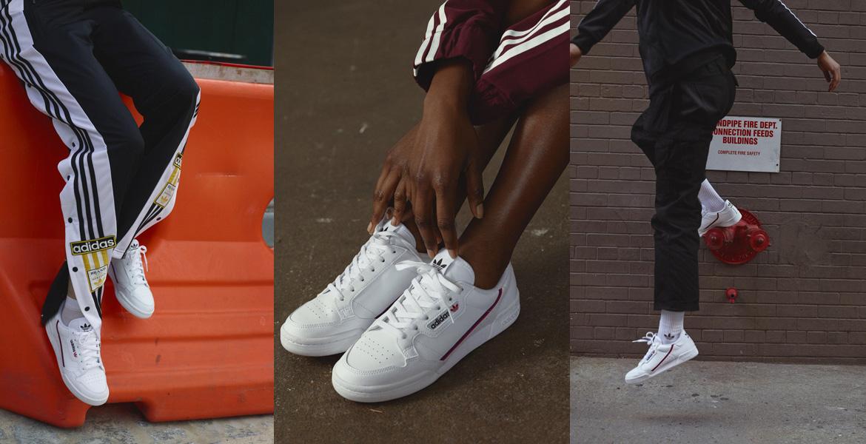 Adidas Nouvelles Présente Baskets Les Continental Originals 80 D9WEIH2Y