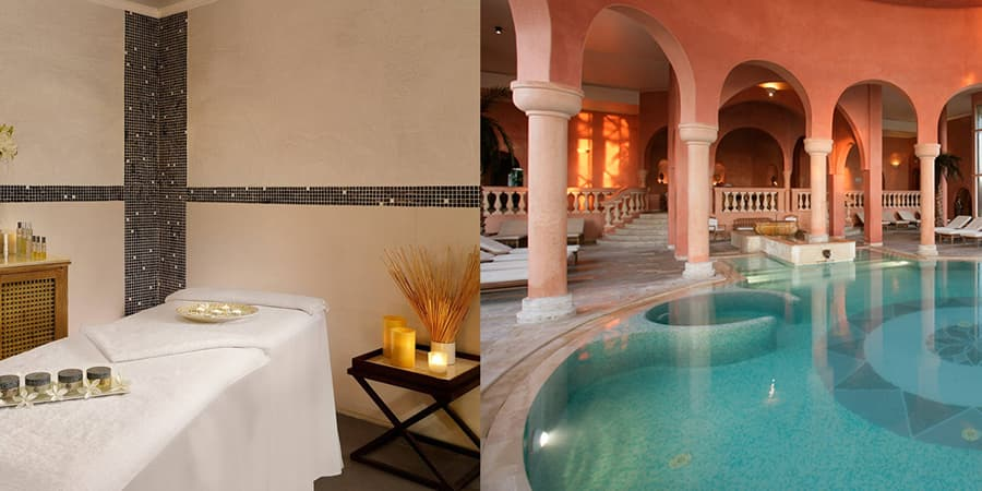 The Spa & Thalasso de The Residence Tunis