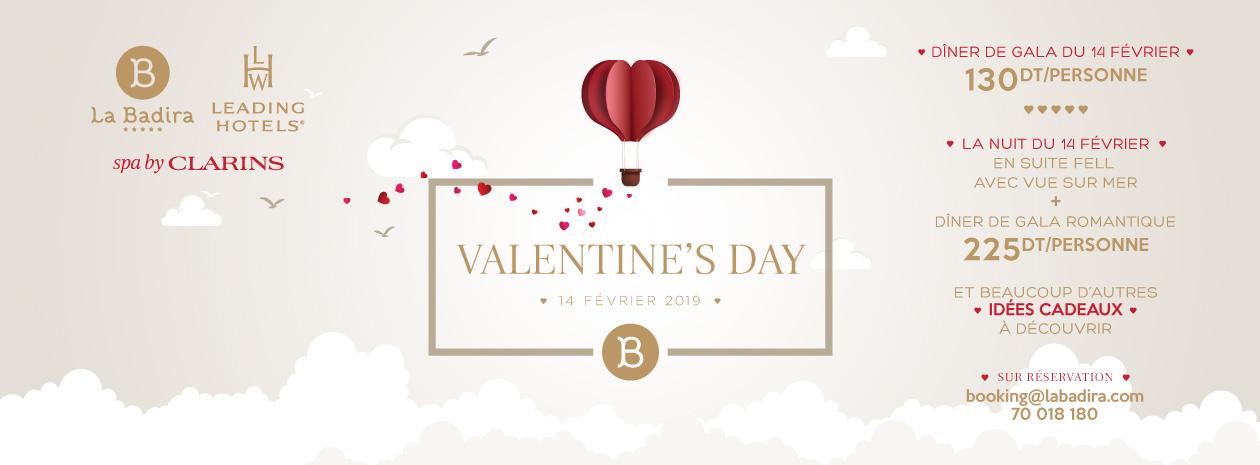 Vivez une Saint-Valentin d exception à La Badira   Dîner Romantique aux  chandelles concocté par notre Chef Slim Bettaieb, où raffinement et  délicatesse ... 54c4e49c39b