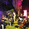La Nuit au Jardin  Une promenade musicale déambulatoire sous la pleine lune dans les jardins de la résidence de France Jeudi 06 Juillet 2017