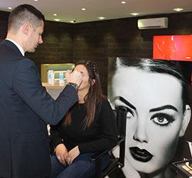 Atelier beauté Pupa avec le make-up artist Federico Lucci  Jeudi 22 Février 2018