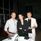 Patrick Joly Président de l'Usine, Sonia Benyahia Directrice du Marketing et Communication de Thalassa Hôtels et Erich Alauzen, Attaché de Presse de Thalassa Hôtels