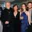 Le musicien Kris Kristofferson, Lisa Kristofferson, Kimberley Alexander et Jesse Kristofferson
