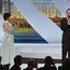 Leonardo DiCaprio et Amitabh Bachchan - Cérémonie d'ouverture © AFP