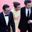 Michel Hazanavicius, Celine Bosquet et Thomas Langmann - Montée des marches - La Reine Margot © AFP