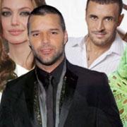 Angelina Jolie, Ricky Martin et Kazem el Saher au Congrès Mondial des Enfants Arabes