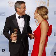 George Clooney élu meilleur acteur aux Golden Globes