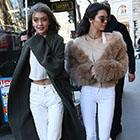 Avant le défilé Victoria's Secret, Kendall redécouvre les rues et boutiques parisiennes.
