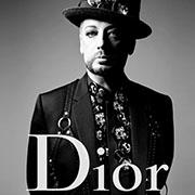 Boy George   Fantasque égérie de Dior Homme, avec ASAP Rocky et Rami Malek 41388783d42