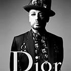 Boy George : Fantasque égérie de Dior Homme, avec ASAP Rocky et Rami Malek