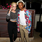 Pharrell Williams : Élégant ambassadeur Chanel, avec Kristen Stewart