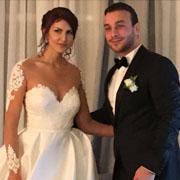 En image : Mariage de l'acteur Yassine Ben Gamra