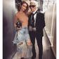 Gigi Hadid : glamour et distinguée pour Fendi