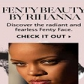 Rihanna dévoile son tuto vidéo sur le make-up Fenty Beauty