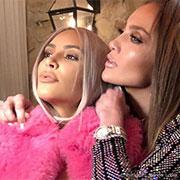 Jennifer Lopez et Kim Kardashian : Inséparables !