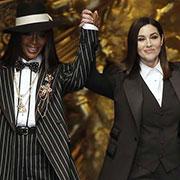 Monica Bellucci et Naomi Campbell, mannequins stars pour Dolce and Gabbana