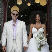 Vincent Cassel et Tina Kunakey se sont mariés à Bidart