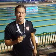 Le nageur Wassim Elloumi champion d'Afrique sur 100 brasses